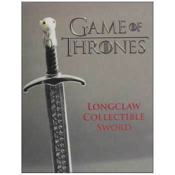 """Longclaw Collectible Sword 4"""" Game of Thrones Running Press Miniature Editions"""