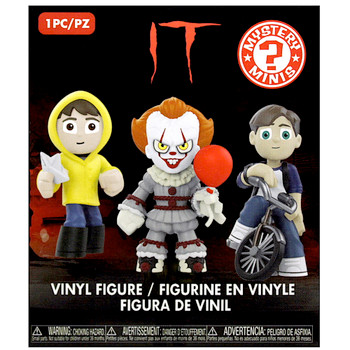"""Pennywise with Balloon 1/6 IT Vinyl Mystery Mini Figure 2.5"""" Sealed Box"""