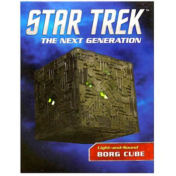 "Star Trek Borg Cube The Next Generation Desktop Miniature Editions 3"""