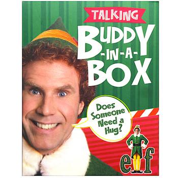 "Elf Talking Buddy in Box Kit and Sticker Book Miniature Editions 3"""