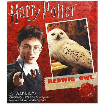 """Hedwig Owl and Sticker Book Harry Potter Running Press Miniature Editions 3"""""""