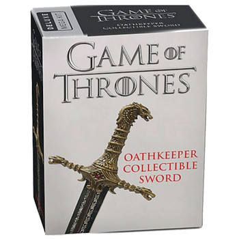 """Oathkeeper Collectible Sword 4"""" Game of Thrones Running Press Miniature Editions"""