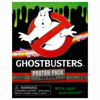 """Ghostbusters Proton Pack Kit with Lights & Sounds Running Press Miniature Editions 3"""""""