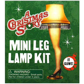 """Leg Lamp Replica from A Christmas Story Miniature Editions 3"""""""