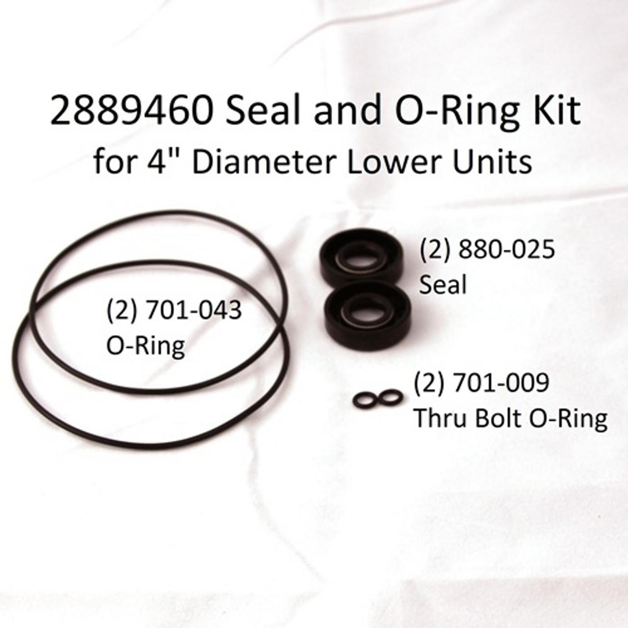 """4"""" Seal Kit Part #2889460"""