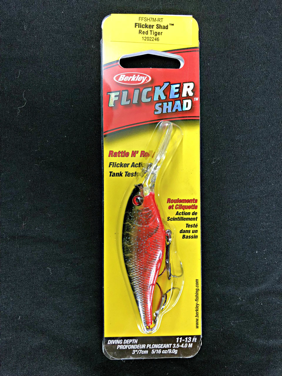 Berkley Flicker Shad - Size 7""