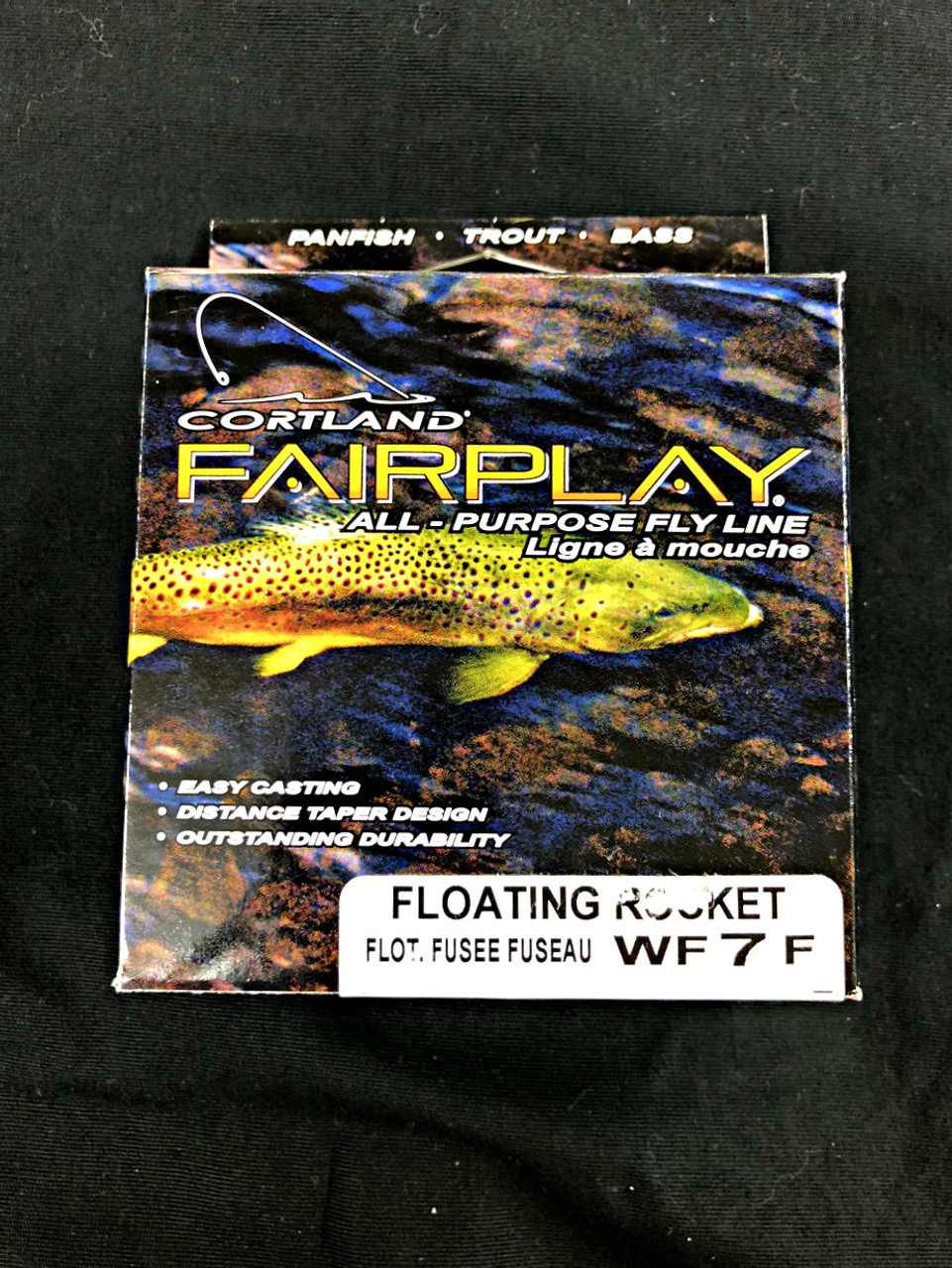 Cortland Fairplay All-Purpose Fly Line - Floating Rocket Taper