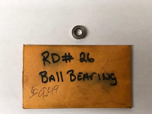 RD 0026 Ball Bearing