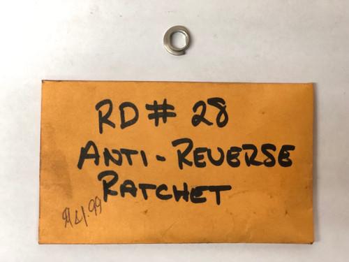 RD 0028 Anti-Reverse Ratchet