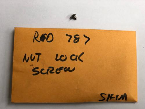 RD 0787 Nut Lock Screw