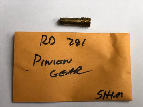 RD 0791 Pinion Gear