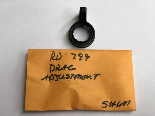 RD 0799 Drag Adjustment