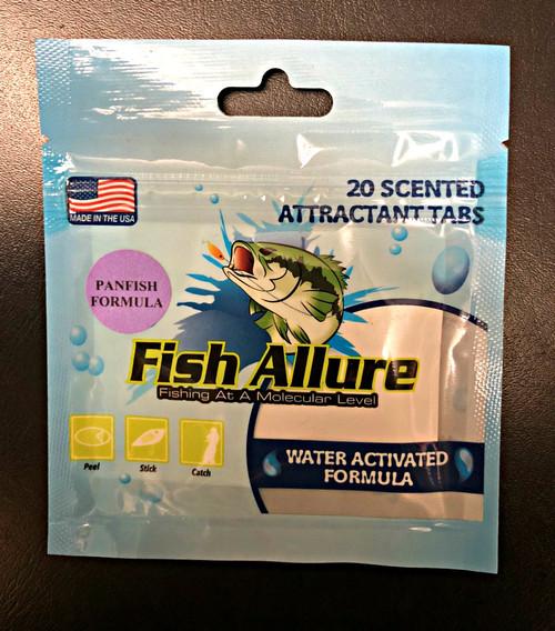 Fish Allure - 20 Scented Attractant Tabs