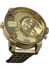 Diesel DZ7287 Big Daddy All Gold