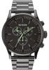 Nixon Sentry Chrono Polished Gun/Lum