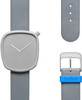 Bulbul Pebble 04 Stone Grey Titanium / Grey Italian Leather