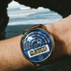 Xeric Halograph Automatic Navy Limited Edition (HLG-3021)