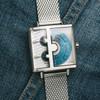 Xeric Soloscope SQ Blue Silver Mesh (SSQ-3018-MESH)