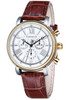 Thomas Earnshaw Longcase 43 Silver Brown White (ES-0016-05)