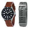 Spinnaker Cahill Automatic Black Silver Brown (SP-5033-01)