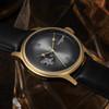 Thomas Earnshaw Precisto Bauer Automatic Silver Gold (ES-8809-03)