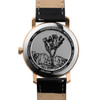 California Watch Co. Mojave Leather Rose Gold Smoke (MJV-4439-03L) caseback etched joshua tree