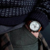 Jack Mason Nautical Chronograph White Tan (JM-N102-018) wrist pocket