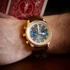 Jack Mason Nautical Chronograph Rose Gold Brown (JM-N102-026) wrist