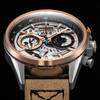AVI-8 Hawker Harrier II Matador Chronograph Silver Brown (AV-4065-02) hero