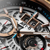 AVI-8 Hawker Harrier II Matador Chronograph Silver Brown (AV-4065-02) date