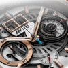 AVI-8 Hawker Harrier II Matador Chronograph Silver Brown (AV-4065-02) chrono