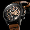 AVI-8 Hawker Harrier II Matador Chronograph Black Brown (AV-4065-03) hero full