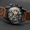 AVI-8 Hawker Harrier II Matador Chronograph Black Brown (AV-4065-03) side
