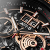 AVI-8 Hawker Harrier II Matador Chronograph Black Brown (AV-4065-03) date