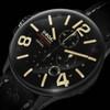 U-Boat Capsoil Swiss Oiled Filled Chronograph DLC Black (8109) dial