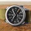 Boldr Venture Jungle Green (BD-VEN-JG) titanium field watch  dial side