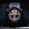 G-Shock GA100 Ana-Digi Black Metallic Rose Gold (GA100MMC-1A)
