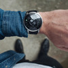 Xeric Trappist-1 Moonphase Silver Black (TMP-3023) wrist