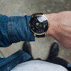 Xeric Trappist-1 Moonphase Gold Black (TMP-3025) wrist