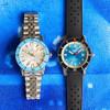 Zodiac ZO9274 Super Sea Wolf 53 Compression Automatic Silver Blue (ZO9274)