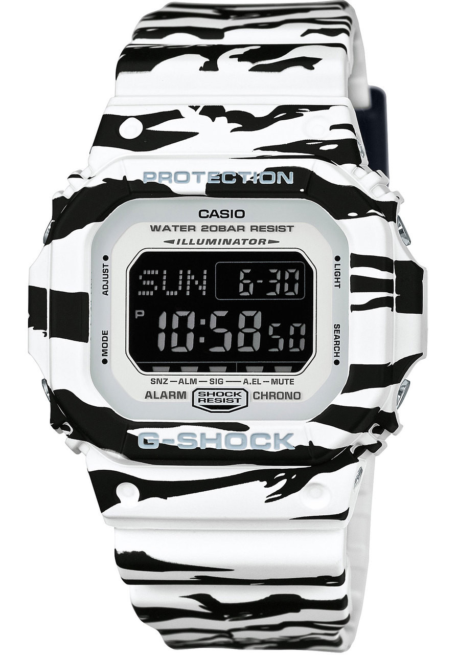 buy online 624ac cdbe9 G-Shock DWD-5600BW-7 Black White Series   Watches.com