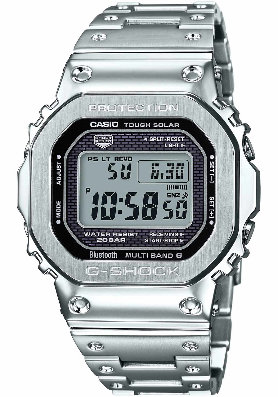 G Shock Gmwb5000 Full Metal Steel Watches Com