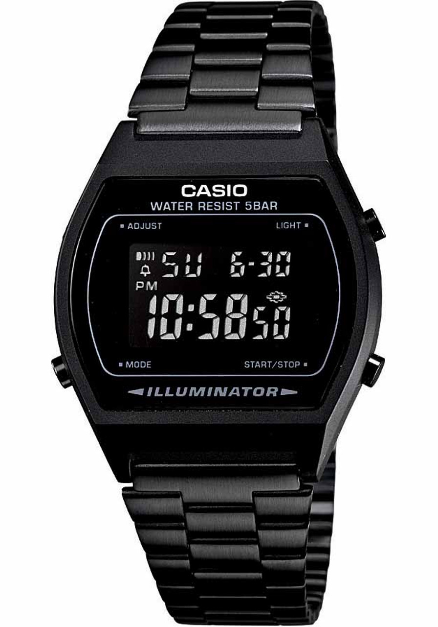 Casio Vintage Digital Black (B640WB-1BVT) 5346cb55532d