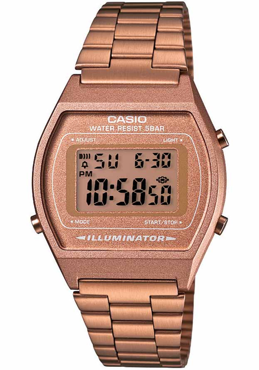79081bcf6bf2 Casio Vintage Digital Rose Gold (B640WC-5AVT)