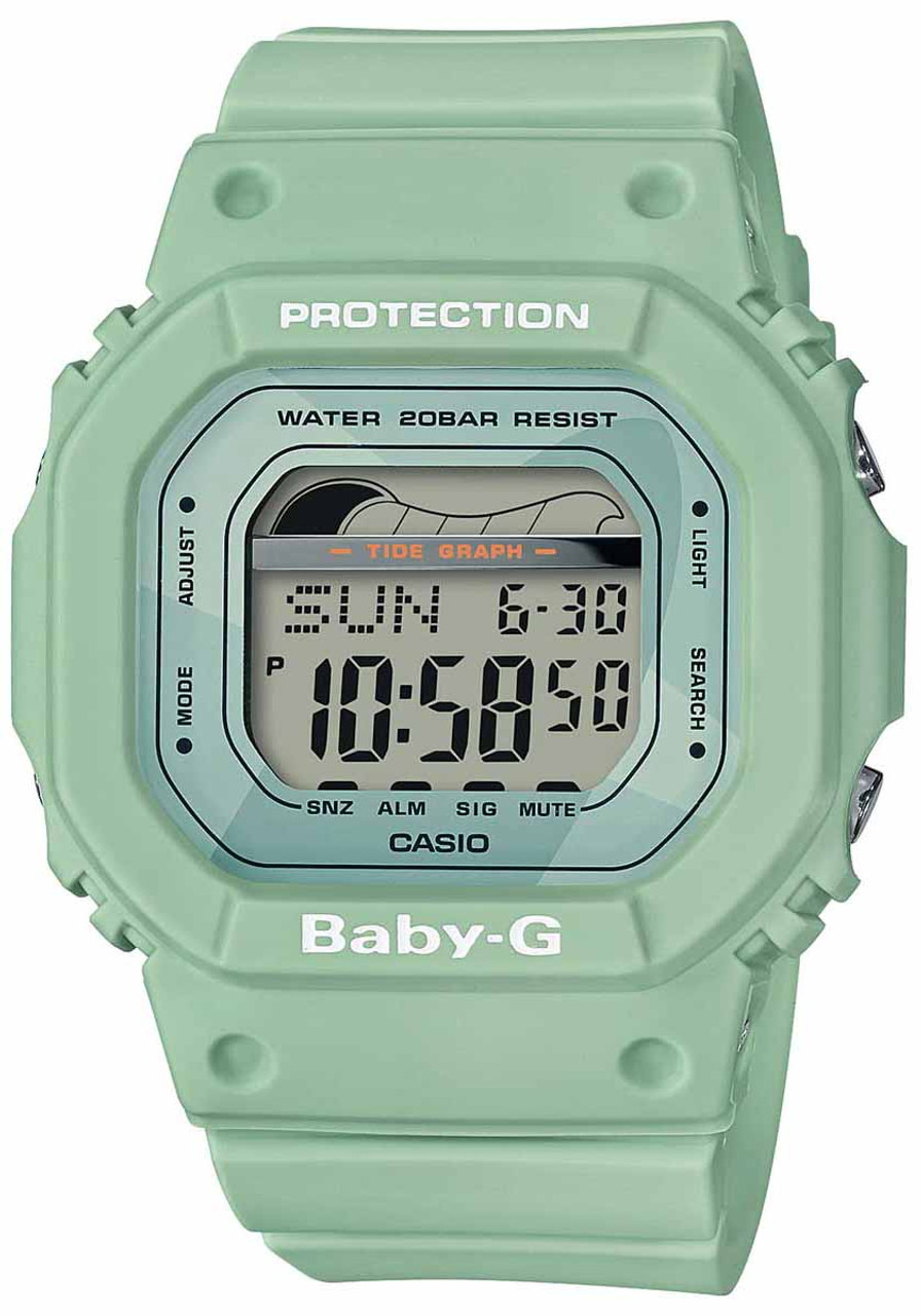 a1f19c7d3 G-Shock Baby-G Retro Surf Green   Watches.com