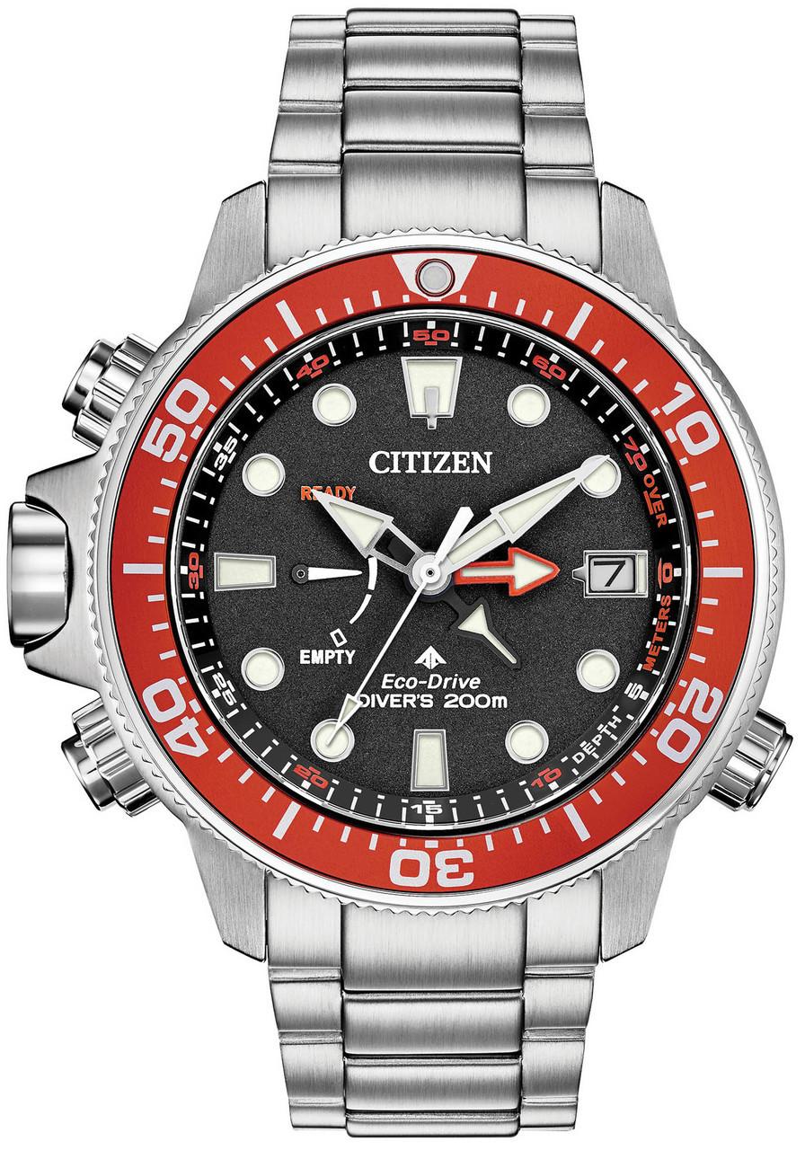2d41f0a2512 Citizen Eco-Drive Promaster Aqualand Grey Red (BN2039-59E)