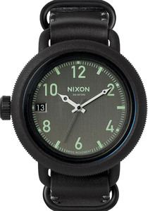 9735c565749 Nixon October Leather All Black (A279001)