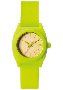 Nixon Small Time Teller P Neon Yellow Beetlepoint 8734ad3bc91
