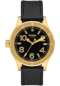 Nixon 38-20 Leather Gold Black be80b0b1f67d