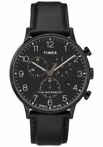 ca86e9258480 Timex Waterbury World Time Intelligent Quartz Black Olive